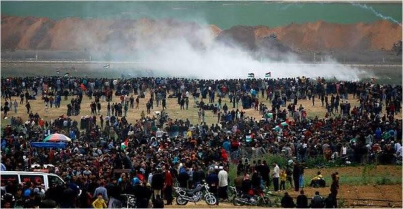 ההפגנות בגבול עזה