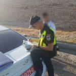 533 דוחות תנועה נרשמו במהלך סוף השבוע האחרון בכבישי יהודה ושומרון.