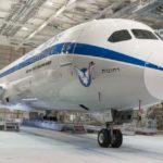 בואינג 787 חדש של אל על נצבע בצבעי 707 הישנים
