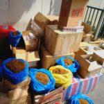 נהג נתפס במחסום אורנית כשהבריח מוצרי טבק במאות אלפי שקלים