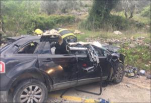 אוסמה ממשתלת צומת אריאל נהרג בתאונה קטלנית