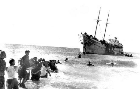 ספינות מעפילים יגיעו לחוף גורדון בעוד כשבועיים