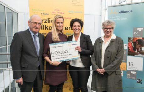 לופטהנזה תרמה 100 אלף אירו לסיוע לפליטים