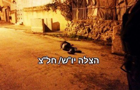 חייל נפצע באורח קל ליד חברון -שני המחבלים חוסלו