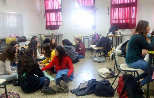למרות המפריד עשרות תלמידים מהשומרון במפגש מרגש בכפר הירוק