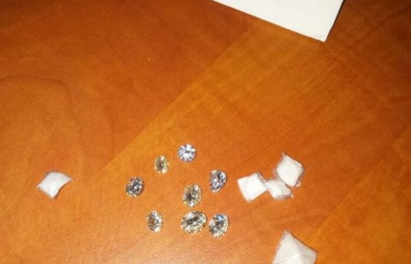 סוכל ניסיון הברחת יהלומים בשווי 75 אלף דולר
