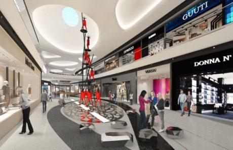 מגדלי גינדי מעוניינת לרכוש 50% ב- TLV Fashion Mall