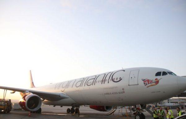 """מטוס של וירגין אטלנטיק נחת אמש לראשונה בנתב""""ג"""