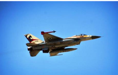 חיל האוויר תקף בסוריה