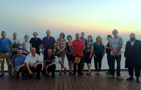 משתתפי קורס יזמות וניהול עסק תיירותי סיירו בגליל המערבי