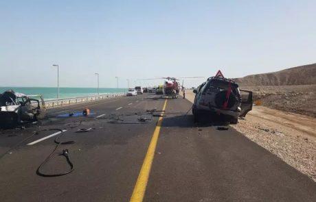 לאחר התאונות הורה השר כץ לשדרג את כביש 90