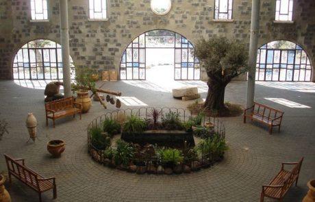 חנוכה במרכז המבקרים של בית הבד של הגולן