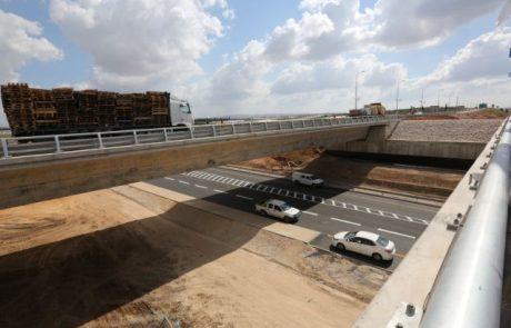 נפתח לתנועה במתכונת סופית חיבור כביש 9 לכביש 6