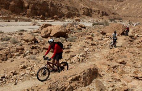 מחברים את מצפה רמון לאילת באופניים