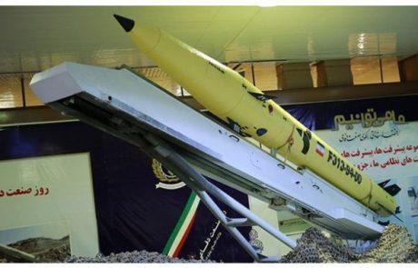 איראן חשפה טיל חדש – פאתח 313