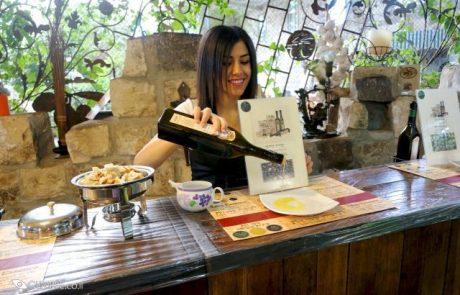 סיורים במרכז המבקרים בבית הבד של הגולן בקצרין