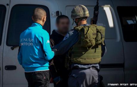 נתפסו 54 כלי רכב ישראלים ששהו בתיקון בשטחים