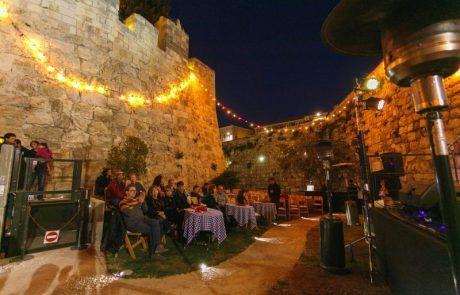 """דווקא עכשיו פסטיבל  """"צלילים בעיר העתיקה"""" ירושלים"""