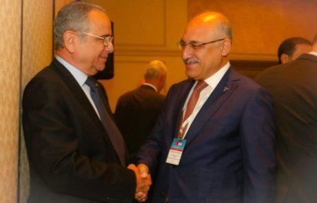 משלחת עסקית טורקית גדולה מבקרת  ישראל