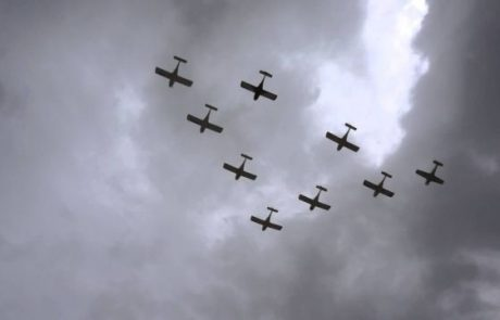 פסטיבל ים של גליל מערבי במטס של 90 מטוסים