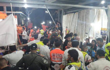 אסון בהר מירון : מעל 44 הרוגים בהילולה