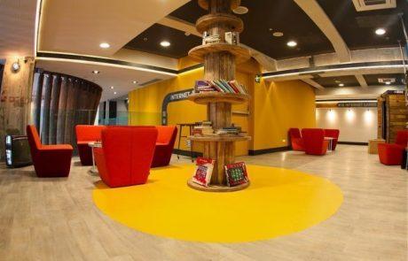 מלון אלטרנטיבי יוקם ביריד המזרח שבנמל תל אביב