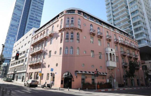 רשת פתאל רכשה את בניין מלון פלטין היוקרתי הראשון בתל אביב