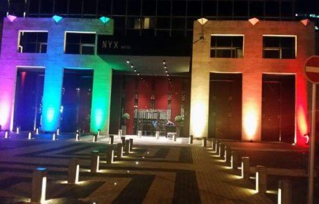 NYX תל אביב – המלון הרשמי של אירועי שבוע הגאווה
