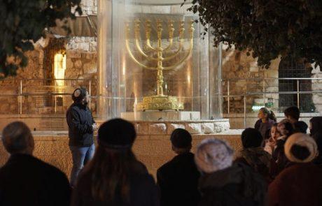 סיורי חנוכיות ועששיות ברובע היהודי בירושלים