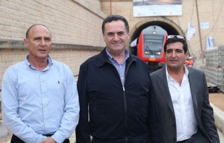 נחנכה נסיעת מבחן ראשונה של רכבת כרמיאל – תל אביב