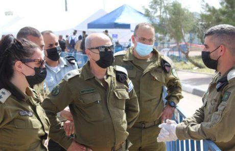 מבצע חיסון הפועלים הפלסטיניים; למעלה מ-50 אלף התחסנו עד כה.