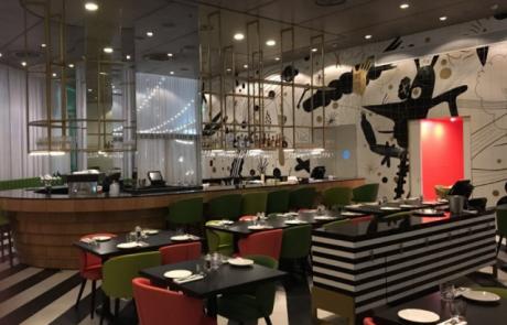 קאריבו היא מסעדה חדשה שנפתחה במלון מלכת שבא אילת