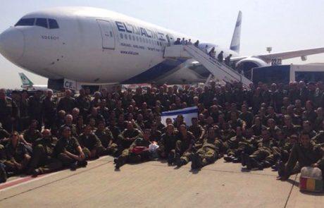 """""""יציאתכם לנפאל היא סמל לעוצמה צבאית ומוסרית"""""""