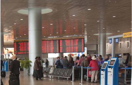 """תחזית: יותר מ-25 מיליון נוסעים יעברו בנתב""""ג ב-2019"""