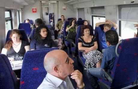 קמפיין חדש לשיפור התנהגות הנוסעים ברכבת