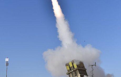 כיפת ברזל שודרגה ועברה בהצלחה סדרת ניסויי יירוט