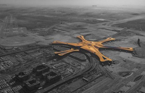 אתמול נחנך בסין נמל התעופה הגדול בעולם