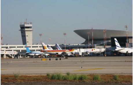 """הודעת """"יתכן שביתה"""" בנתב""""ג נשלחה לכל חברות התעופה"""