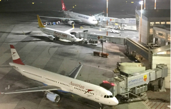 """רק 3 חברות תעופה בינלאומיות זרות פועלות בנתב""""ג"""