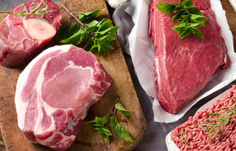 מחירי הבשר הטרי המיובא ממשיכים לרדת
