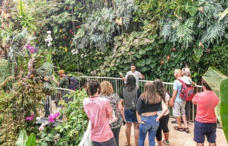 ילדי טבע : חוגגים את טו בשבט בגן הבוטני
