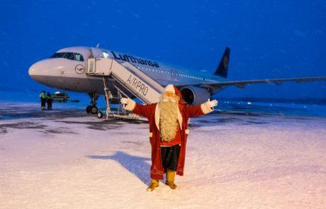 סנטה קלאוס יוצא למסעו עם לופטהנזה