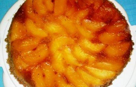 עוגה לשבת- עוגת תפוחים הפוכה -נוסטלגיה