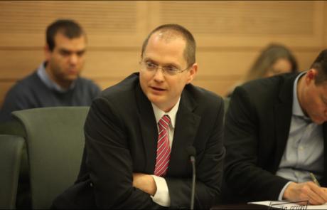 חבר הכנסת פורר הגיש הצעת חוק להפסקת כהונתו של ראש הממשלה