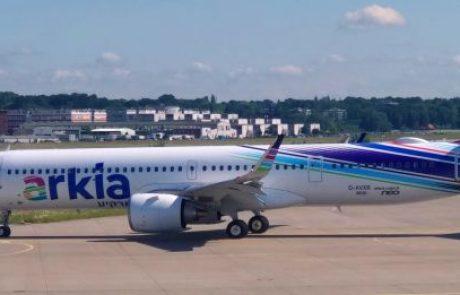 מטוס איירבס איירבס A321neoLR חדש מצטרף לארקיע