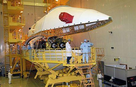 חברת חלל : כשל מוחלט ללווין עמוס 5
