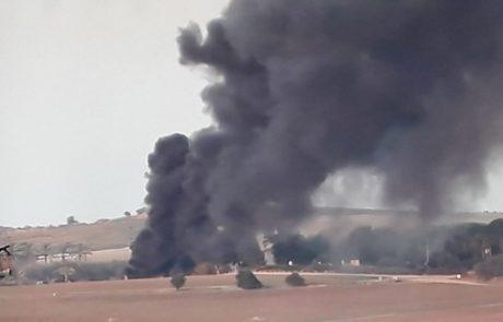 נהג אוטובוס נפצע מפצצת מרגמה בכפר עזה