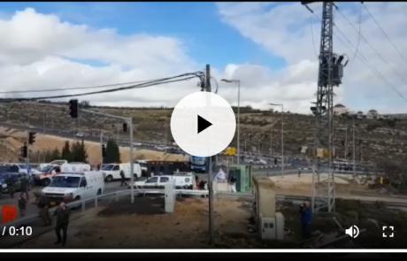 חמישה ימים לאחר הירי בעופרה: שני ישראלים נרצחו בקרבת מקום