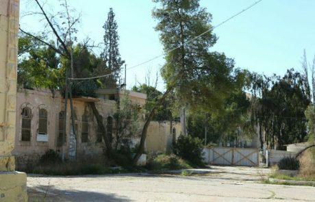 מפנים את מחנה ורד הצבאי בבאר שבע