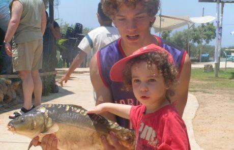 פסטיבל הקרפיון 2018 בפארק הדיג מעיין צבי